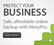 Click Here to Learn about AHMS Online Backup by MozyPro